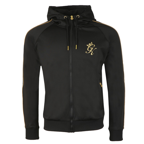 Gym King Mens Black Omar Poly Track Top main image