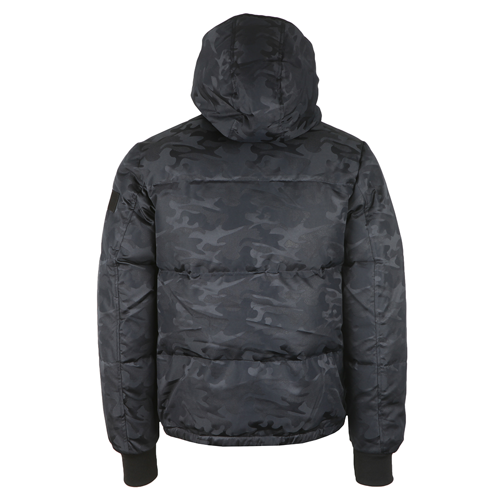 Camo Hooded Down Bomber main image