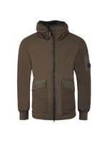 Long Fleece Lined Shell Jacket