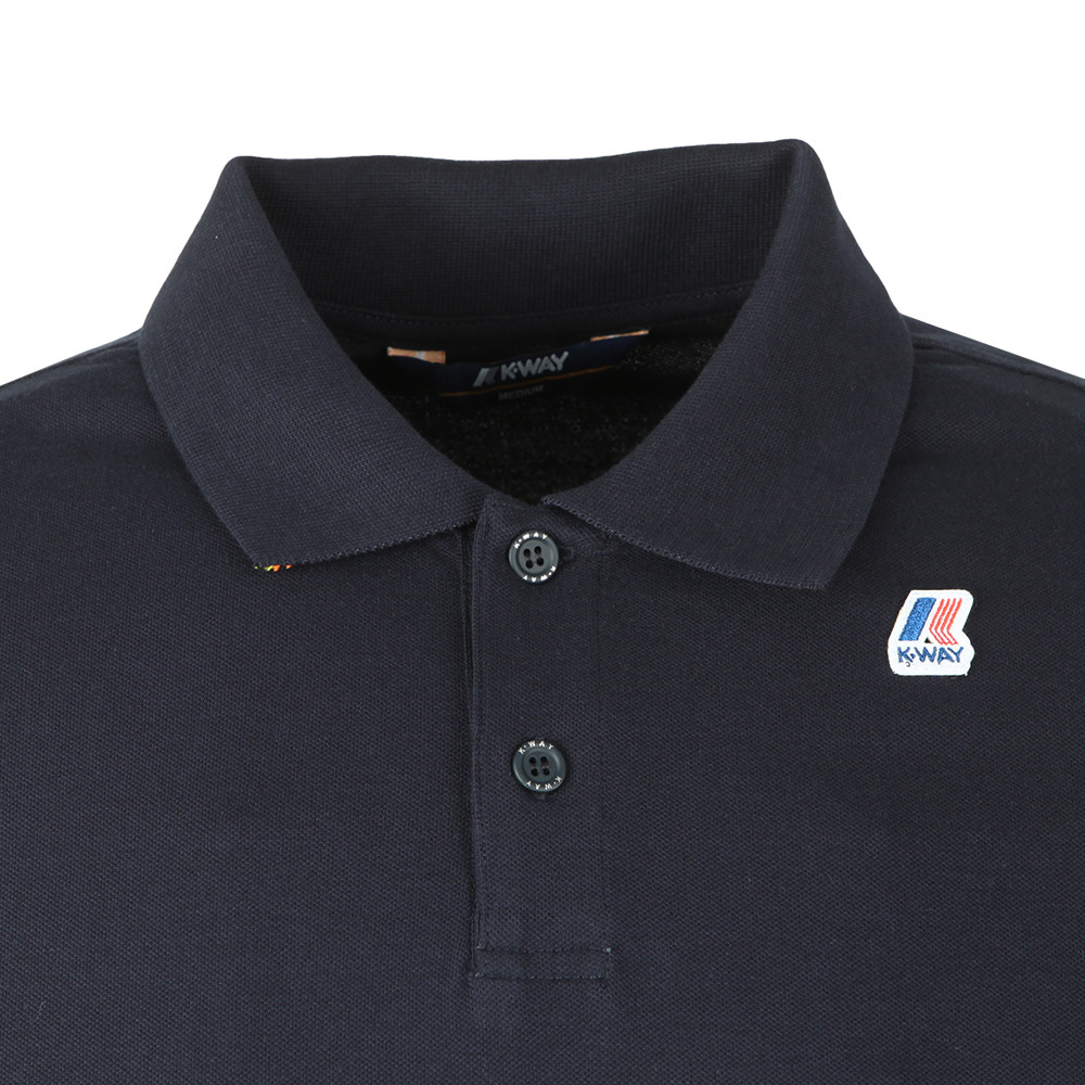 Rochel Stretch Long Sleeve Polo Shirt main image