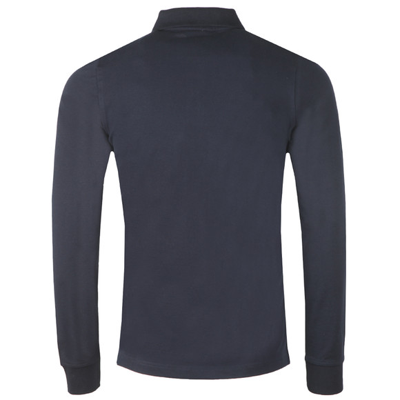 K-Way Mens Blue Rochel Stretch Long Sleeve Polo Shirt main image