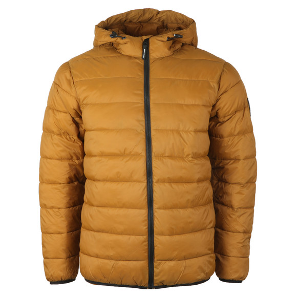 Weekend Offender Mens Yellow Frazier Jacket