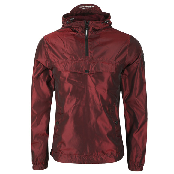 Weekend Offender Mens Purple Louis Jacket main image