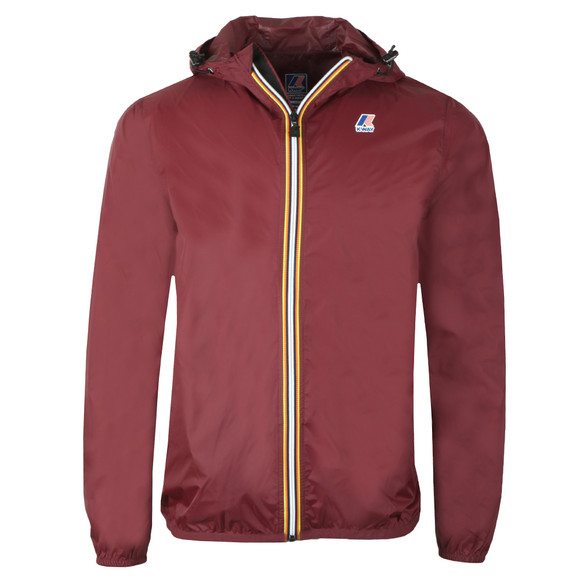 K-Way Mens Red Le Vrai 3.0 Claude Jacket main image