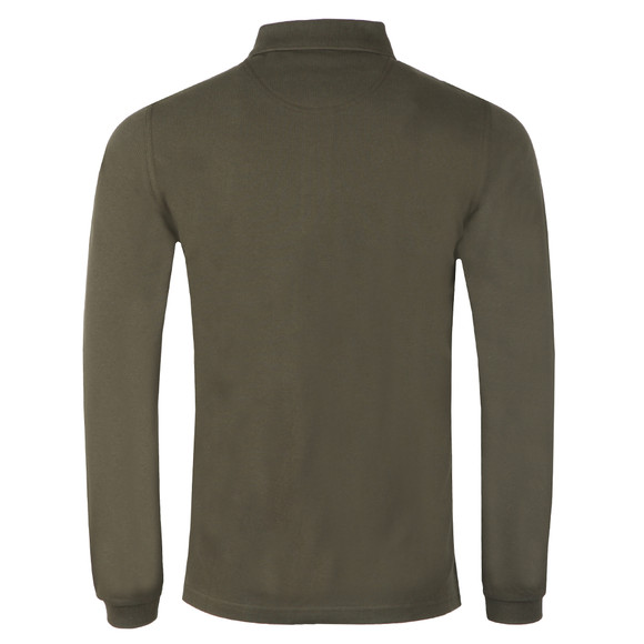 Barbour Beacon Mens Green L/S Polo main image