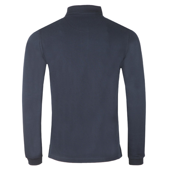 Barbour Beacon Mens Blue L/S Polo Shirt main image