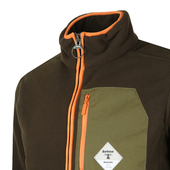 Barbour Beacon Mens Green Egremont Fleece main image