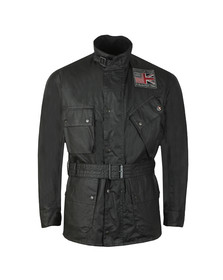 Barbour Int. Steve McQueen Mens Black Joshua Wax Jacket