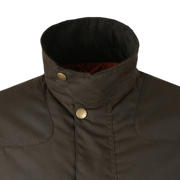 Barbour Beacon Mens Green Stybarrow Wax Jacket main image