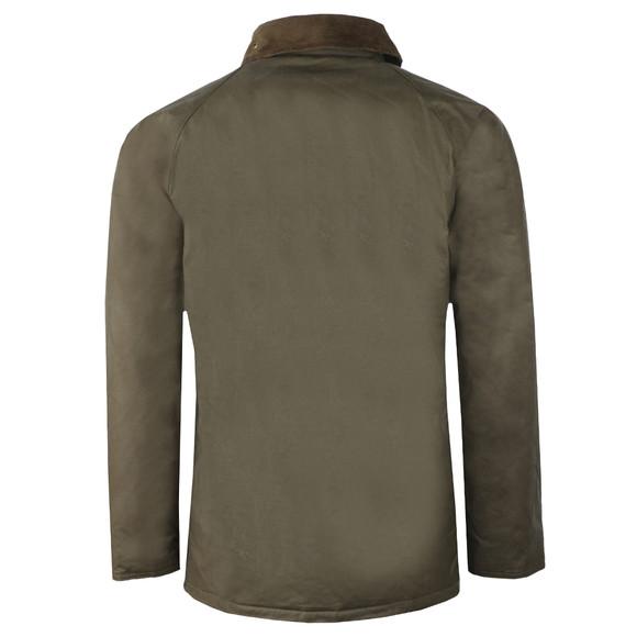 Barbour Beacon Mens Green Lingmell Wax Jacket main image