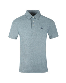 Psycho Bunny Mens Blue Ambleside Polo