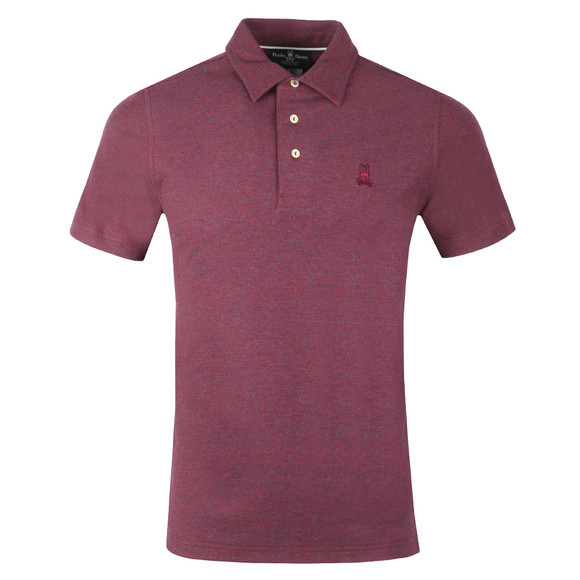 Psycho Bunny Mens Red Ambleside Polo main image