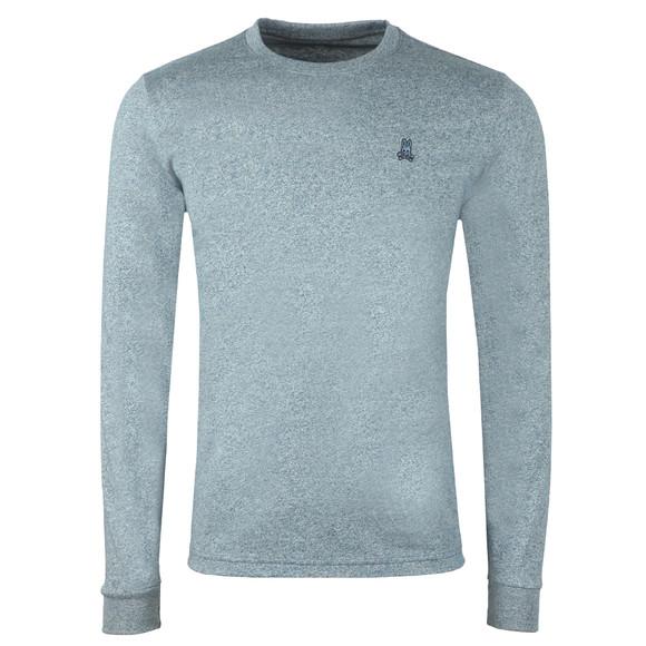 Psycho Bunny Mens Blue Classic Long Sleeve T Shirt main image