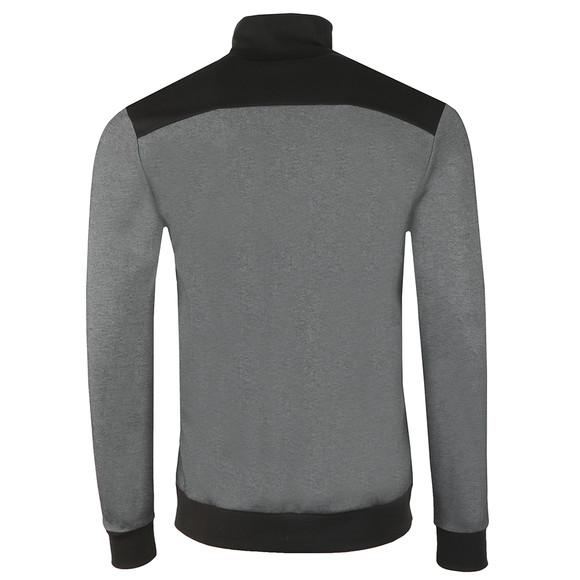 BOSS Bodywear Mens Grey Full Zip Contrast Track Jacket main image