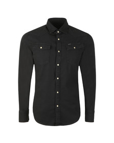 G-Star Mens Black L/S 3301 Denim Shirt