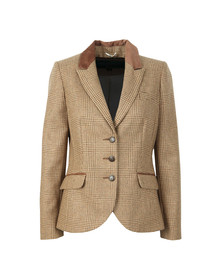 Holland Cooper Womens Beige Hacking Jacket