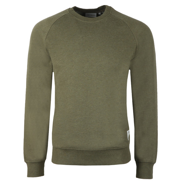 Carhartt WIP Mens Green Holbrook Sweat main image