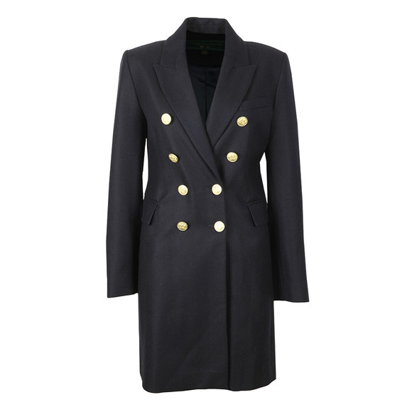 Holland Cooper Womens Blue Knightsbridge Coat main image