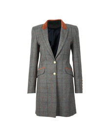 Holland Cooper Womens Blue Kempton Coat