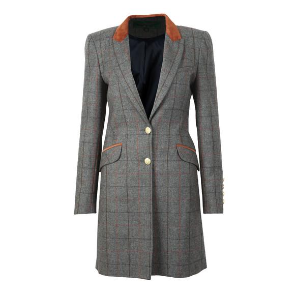 Holland Cooper Womens Blue Kempton Coat