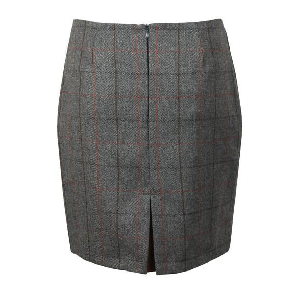 Holland Cooper Womens Blue Chelsea Check Mini Skirt
