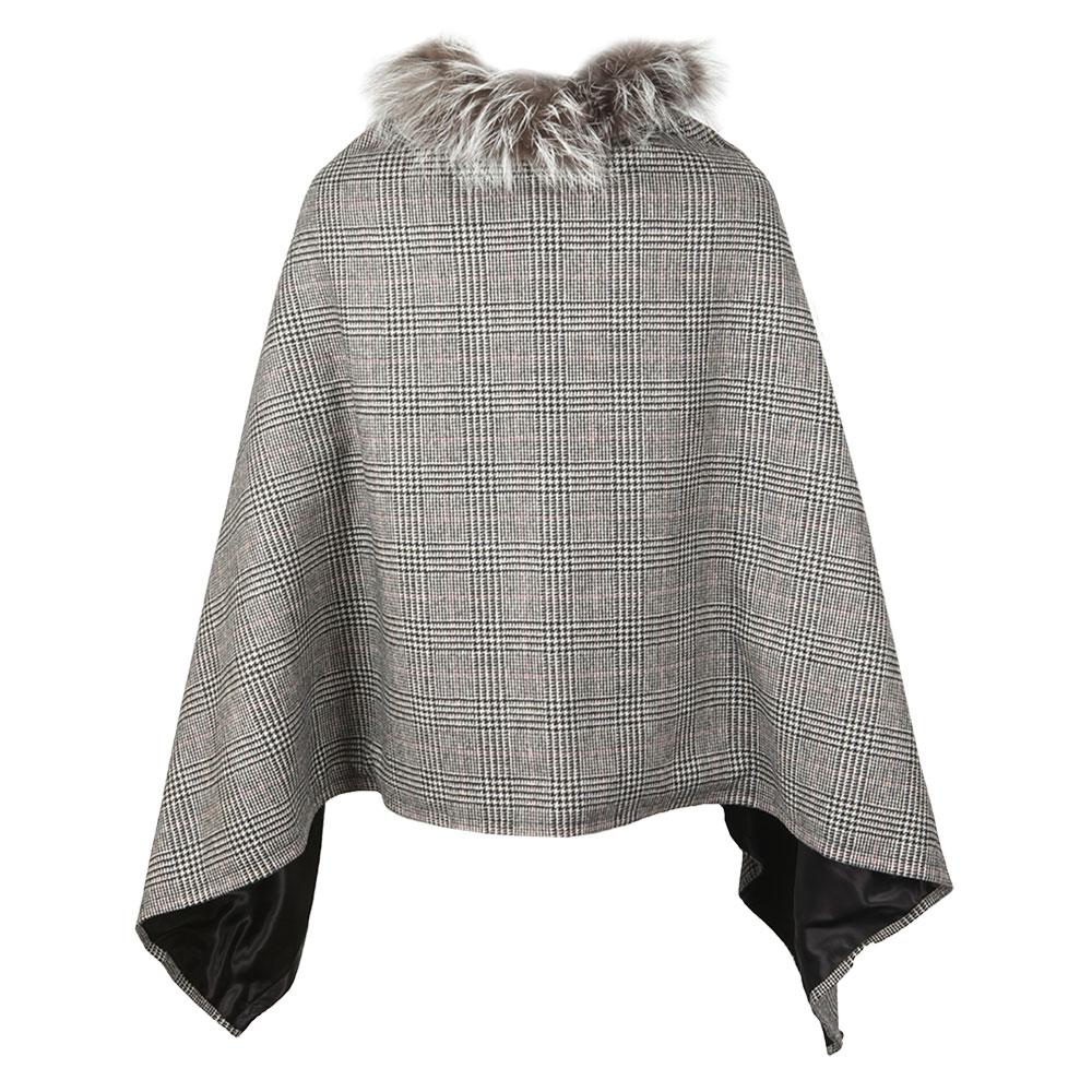 Tweed & Fur Wrap main image