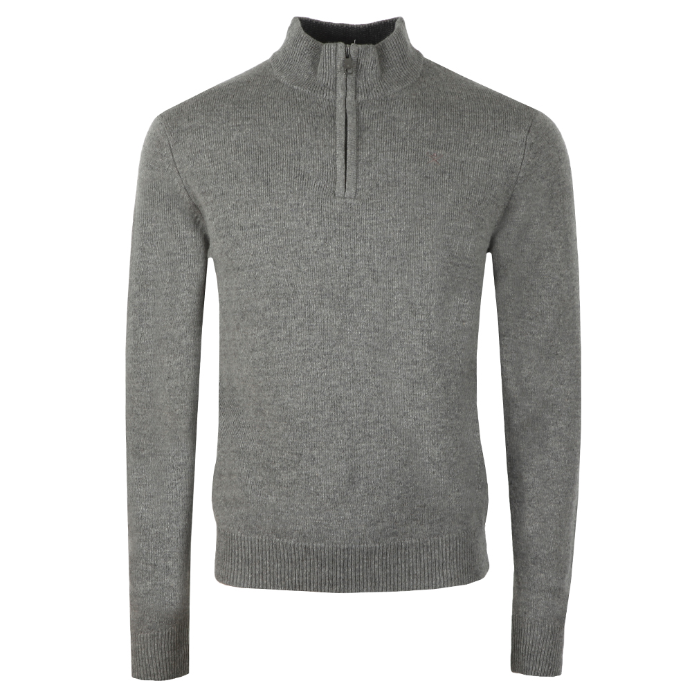 Lambswool Half Zip Jumper main image