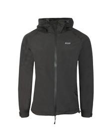 HUF Mens Black Standard Shell Jacket