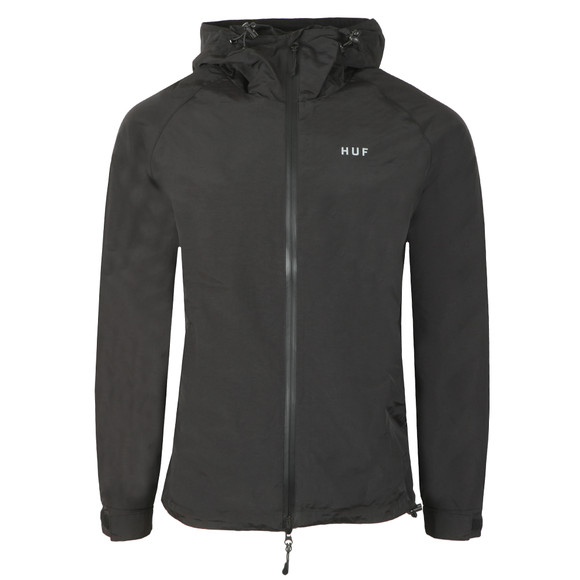 HUF Mens Black Standard Shell Jacket main image