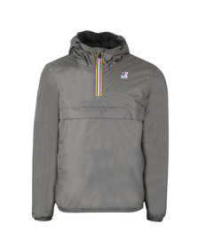 K-Way Mens Grey Le Vrai Leon Padded Jacket