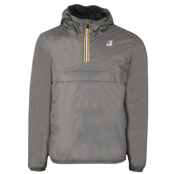 K-Way Mens Grey Le Vrai Leon Padded Jacket main image