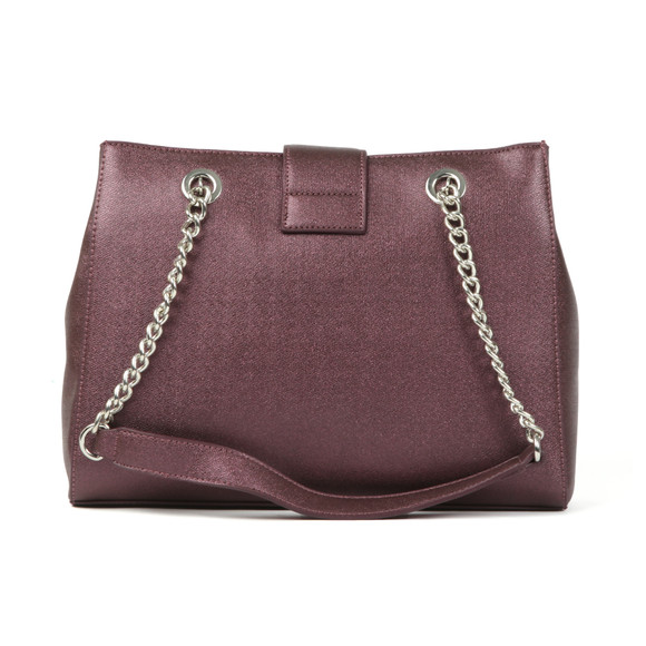 Valentino by Mario Womens Purple Marilyn Tote Bag main image