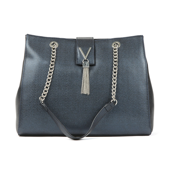 Valentino by Mario Womens Blue Marilyn Large Tote main image