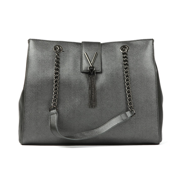 Valentino by Mario Womens Grey Marilyn Large Tote main image