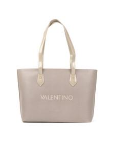 Valentino by Mario Womens Beige Magnolia Tote Bag
