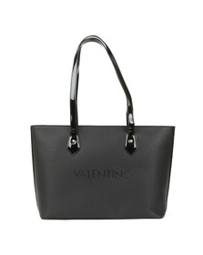 Valentino by Mario Womens Black Magnolia Tote Bag