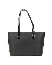 Valentino by Mario Womens Black Magnolia Tote Bag