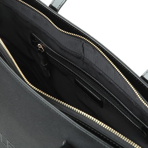 Valentino by Mario Womens Black Magnolia Tote Bag main image