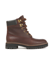 Timberland Womens Brown London Square 6 Inch Boot