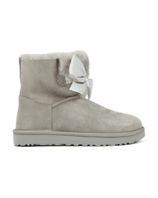 Ugg Womens Grey Gita Mini Bow Boot
