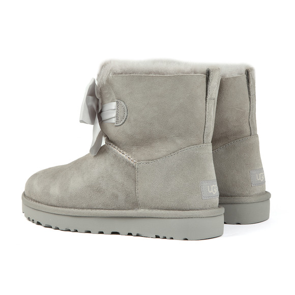 Ugg Womens Grey Gita Mini Bow Boot main image