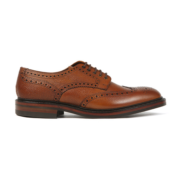 Loake Mens Brown Badminton Shoe main image
