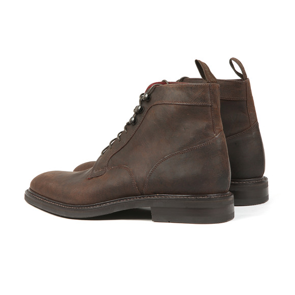 Loake Mens Brown Crow Waxed Suede Boot main image