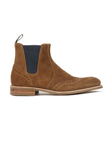 Loake Mens Brown Hoskins Suede Boot