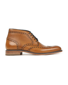 Loake Mens Brown Errington Boot