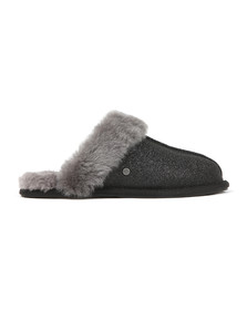 Ugg Womens Black Scuffette II Sparkle Slipper
