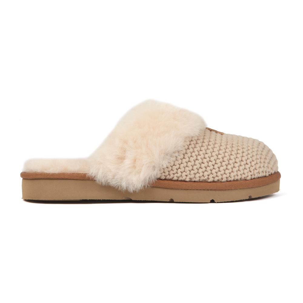 9823c9800c1 Womens Off-White Cozy Knit Slipper