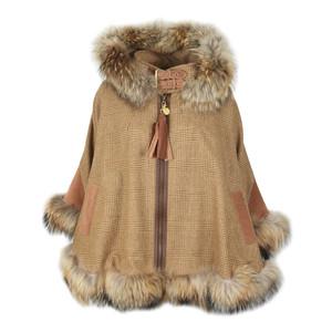 Gold Label Fur Cape