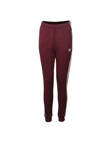 Adidas Originals Womens Red Regular TP Cuff Jogger
