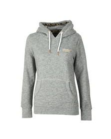 Superdry Womens Grey Orange Label Elite Hoody